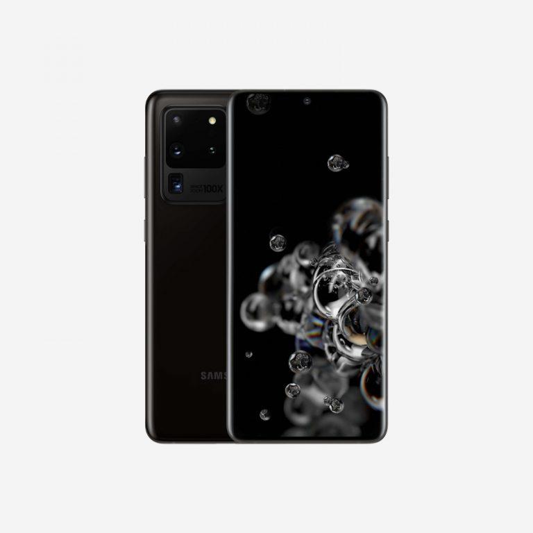 Galaxy S20 Ultra Cosmic Black