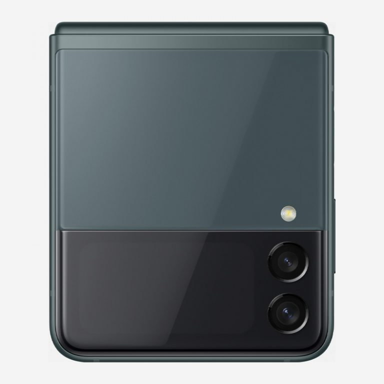 Galaxy Z Flip 3 Green Camera