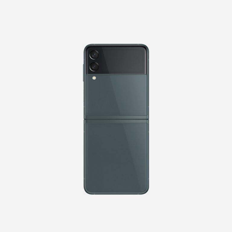 Galaxy Z Flip 3 Green Rear